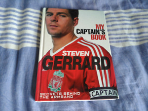 Steven Gerrard's Captain's Book