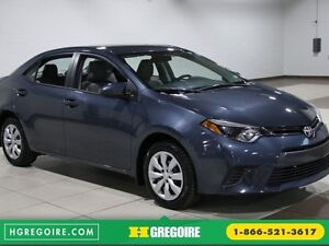 2016 Toyota Corolla CE A/C GR ELECT BLUETOOTH