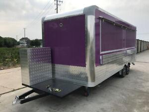 concession trailer food trailer Concession Truck for Sale