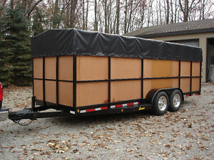 LANDSCAPING CONSTRUCTION CARGO HUNTING ATV TRAILER