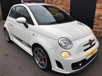 2009 Abarth 500 1.4 T-Jet 3dr Petrol white Manual