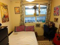 Short term let of BIG double room in Mile End flatshare