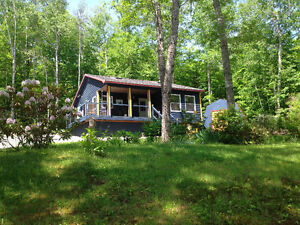 Small Home for Sale On Sherbrooke Lake