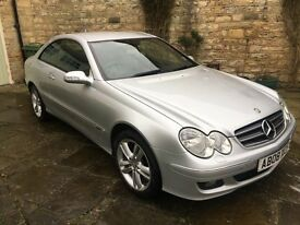 Very tidy Mercedes CLK 2.1 Avantgarde