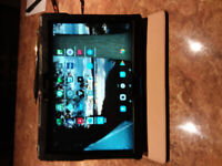 """Lenovo tablet 10.1"""", with case."""