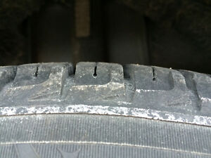 SNOW TIRES Michelin snow tires  15 inches and on rims Oakville / Halton Region Toronto (GTA) image 3
