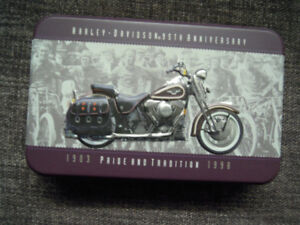 Harley Davidson Collector Cards & Tin
