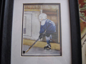 Shirley Deaville framed and matted hockey prints Windsor Region Ontario image 2