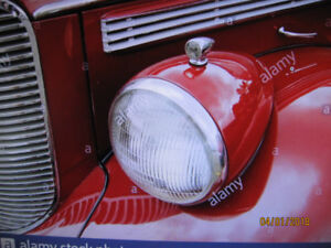 WANTED 1938 DODGE car HEADLIGHT LENS and ring
