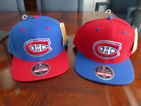 MONTREAL CANADIAN - Maurice Richard & Jean Beliveau ball caps