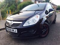 VAUXHALL CORSA 1.2 LIFE 2008, ONLY 57K MILEAGE, FULL SERVICE HISTORY