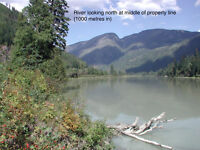160 Acres with 2 km of BC waterfront. Great hunting/fishing/ATV