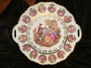 Vintage Server Plate with Stand.