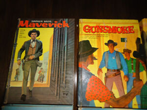 Whitman authorized TV editions Westerns