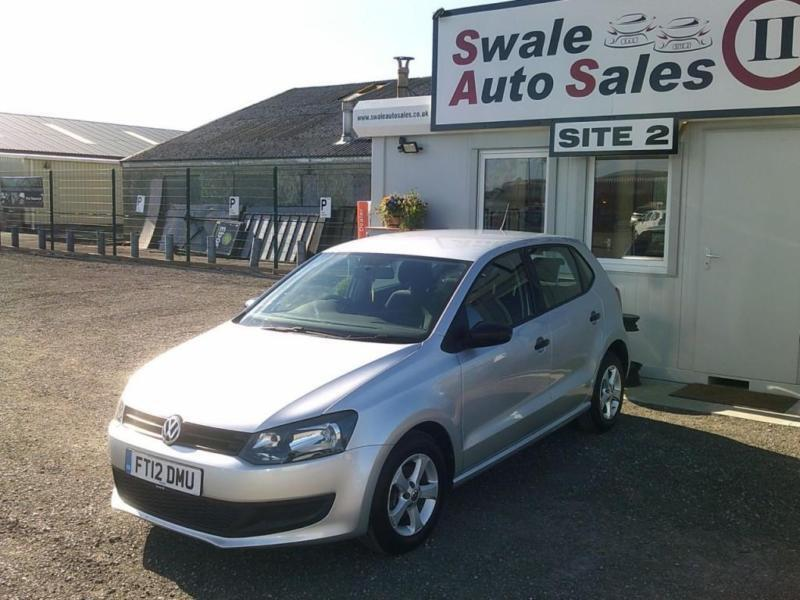 2012 VOLKSWAGEN POLO S 1.2L - ONLY 41,146 MILES - FULL SERVICE HISTORY