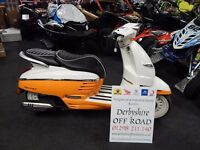 NEW Peugeot Django Evasion 125cc Moped Scooter 2016 Model - PRICE REDUCTION - DELIVERY & FINANCE AVB