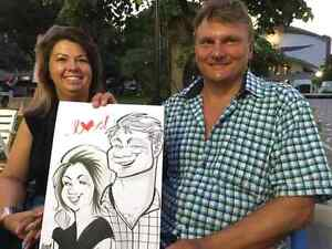 the wedding caricature art  West Island Greater Montréal image 6