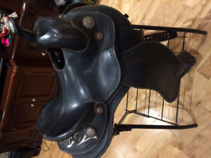 14 inch western barrel saddle