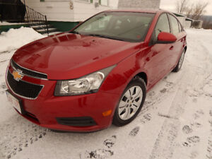 2012 Chevrolet Cruze LT Turbo / Low Kms / New MVI / Super Clean
