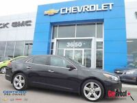 2013 CHEVROLET MALIBU 2.0L TURBO, LTZ, BAS MILLAGE !!!