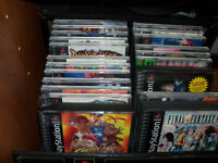 193 ps1 (playstation one) games for sale or trade