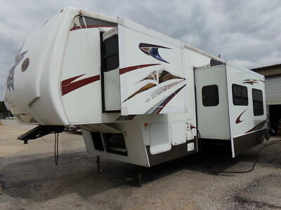 @ No Reserve used Toy hauler RV Camper 3 Slide Trailer No Cyclone Voltage Venom