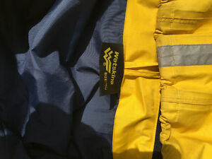 Wetskin Boaters Rainsuit Yellow Mens London Ontario image 2