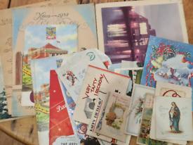 Job lot Vintage Ephemera.. Royal Bath Hotel Menus, postcards, 1st da