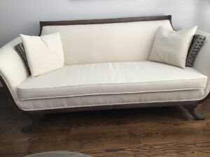 Beautiful Duncan Phyfe Style Sofa