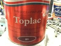 Yacht or boat paint - international toplac in Rustic Red