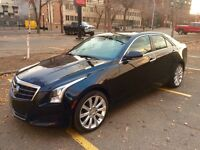 Cadillac ATS - 2.0 Turbo AWD - Black-Red Interior
