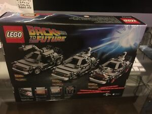 Lego back to the future 21103 neuf West Island Greater Montréal image 2