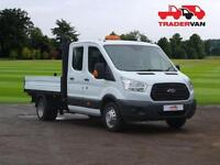 15 FORD Transit 350 2.2 TDCi 155ps L3 Long Wheel Base Double Cab Tipper DIESEL M