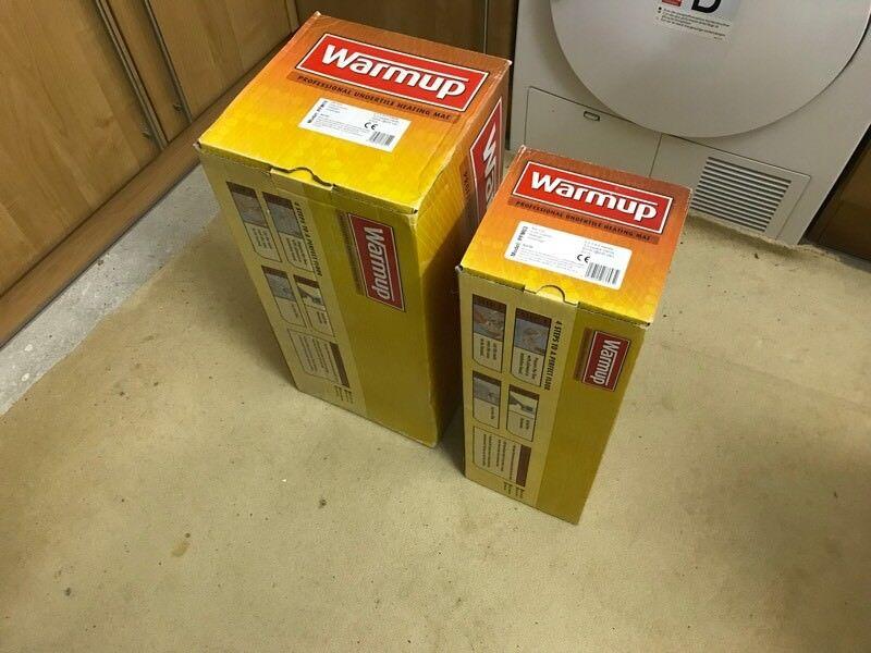 Electric Underfloor Heating Mats 13ms 150 Watts Warmup