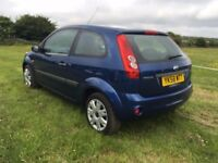 Ford fiesta, automatic, ideal condition, very low mileage, cheap to insure . Tidy in and out.