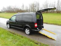 2012 62 Volkswagen Caddy Maxi Life 1.6 Tdi WHEELCHAIR ACCESSIBLE ADAPTED VEHICLE