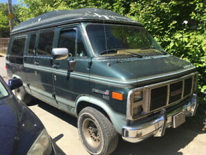 GMC Vandura 1989 - Conversion par Starcraft