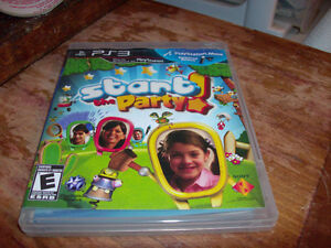 PS3 PLAY STATION VIDEO GAME START PARTY CLEAN DISC