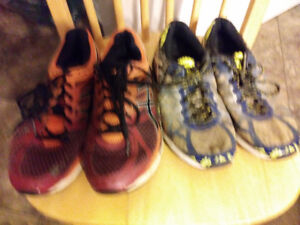 Mens Asics running shoes