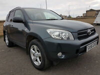 LOW MILEAGE TOYOTA RAV4 D-4D WITH SERVICE HISTORY