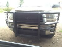 Toyota Tundra bumper brush guard / push bar