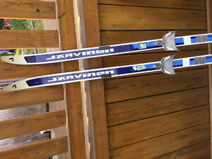 Free cross-country skis!!!
