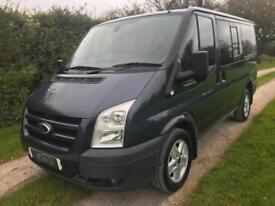 2011 FORD TRANSIT VAN MINI BUS T280S TOURNEO TREND 9 SEATS LOW MILES NO VAT