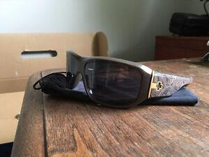 SPY Lacrosse Grey Paisley Mens Sunglasses