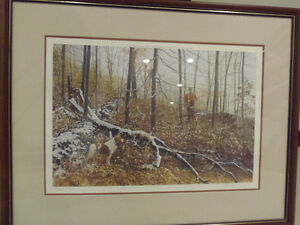 Stunning Large Signed Numbered Ltd Edition Print by Corbin! London Ontario image 1