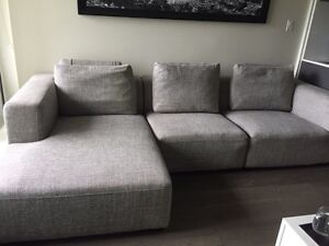 3 piece Sectional Couch - from Inspiration