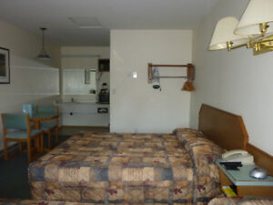 fully furnished one bedroom kitchenette