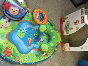 Tummy Time Mat and Travel Mirror