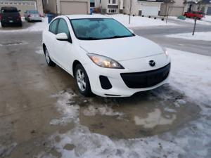 "Mazda 3 GX ""just safetied"""