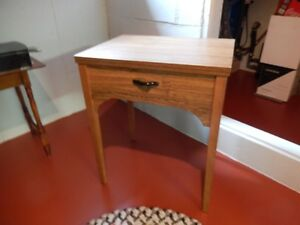 free arm sewing machine table